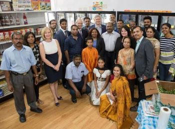 Photo #2 - Canada - Otta Nottathil - prime_minister_visited_royal_kerala_store