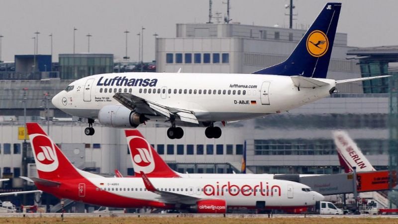 Photo #1 - Germany - Otta Nottathil - air_berlin_swallows_lufthansa