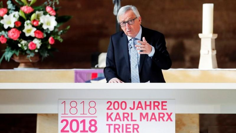 Photo #1 - Germany - Otta Nottathil - karl_marx_200_birthday_trier