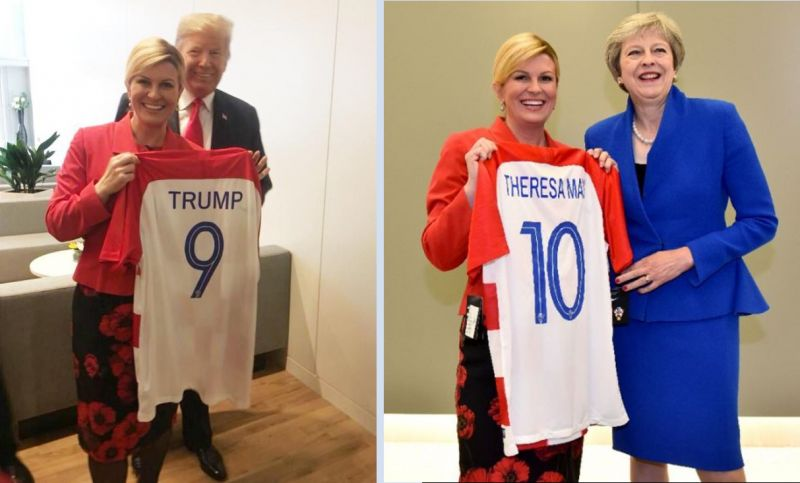 Photo #1 - Europe - Sports - croasian_president_kolinda