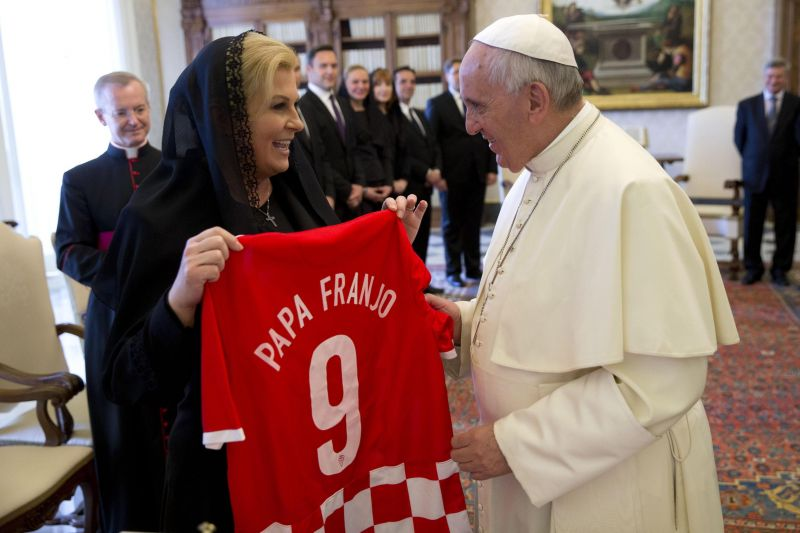 Photo #2 - Europe - Sports - croasian_president_kolinda