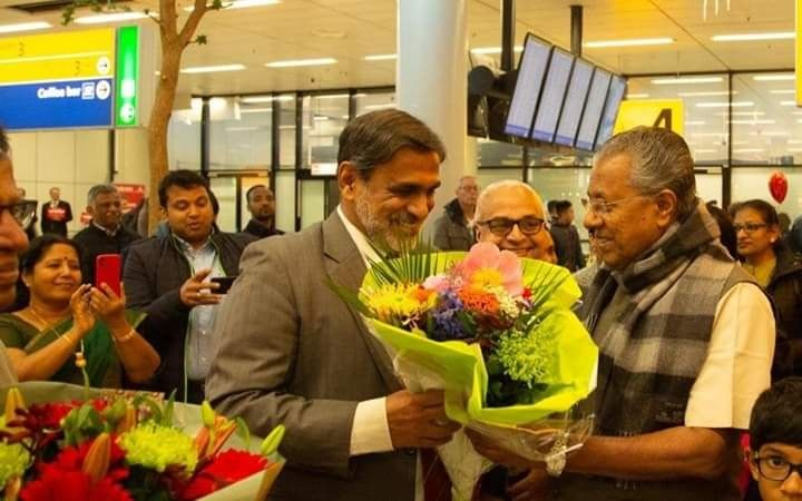 Photo #1 - Europe - Otta Nottathil - kerala_chief_minister_pinarayi_vijayan_visiting_europe