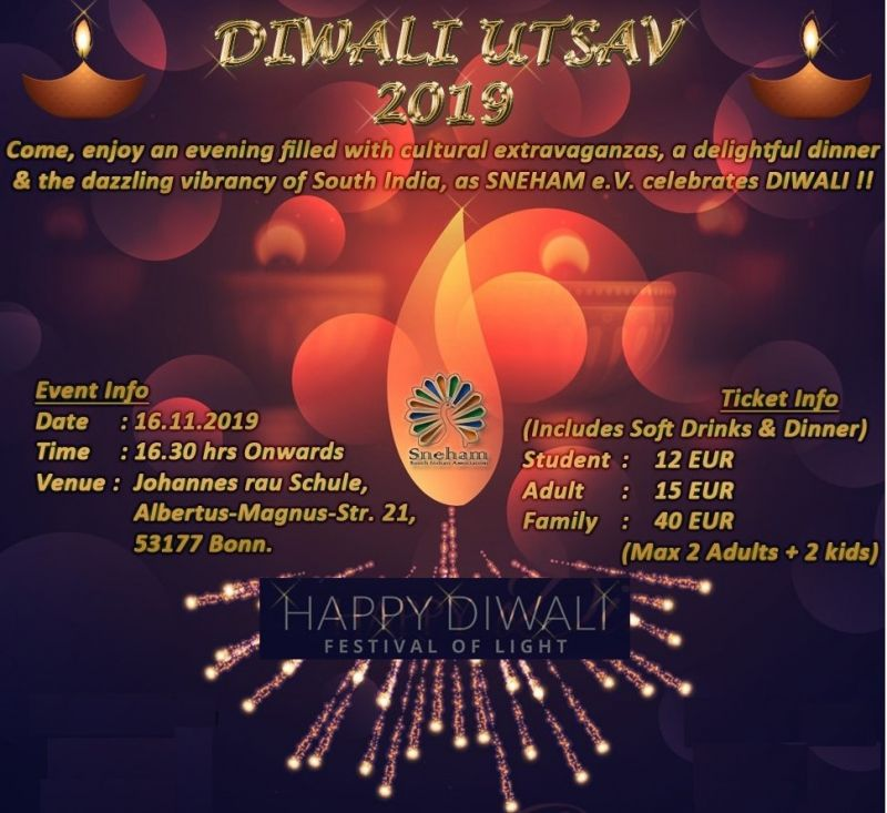 Photo #1 - Germany - Otta Nottathil - diwali_utsav_bonn_nov_16